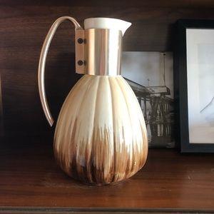 MCM Vintage C. Miller 1957 Glazed Pitcher Vase